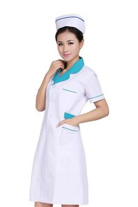 đồng phục bện viện áo blouse trắng