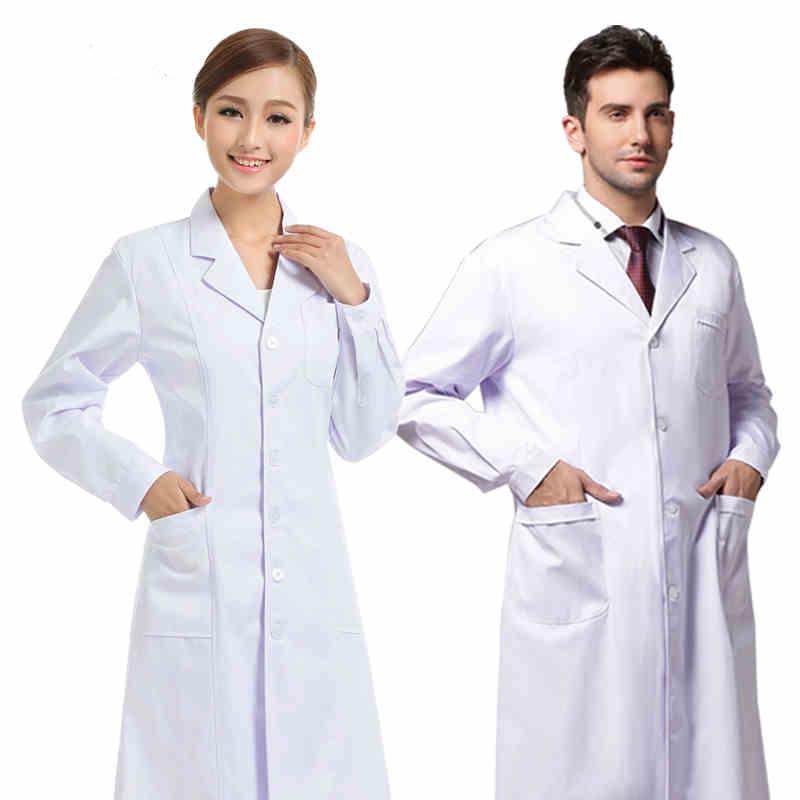 may đồng phục bệnh viện áo blouse trắng